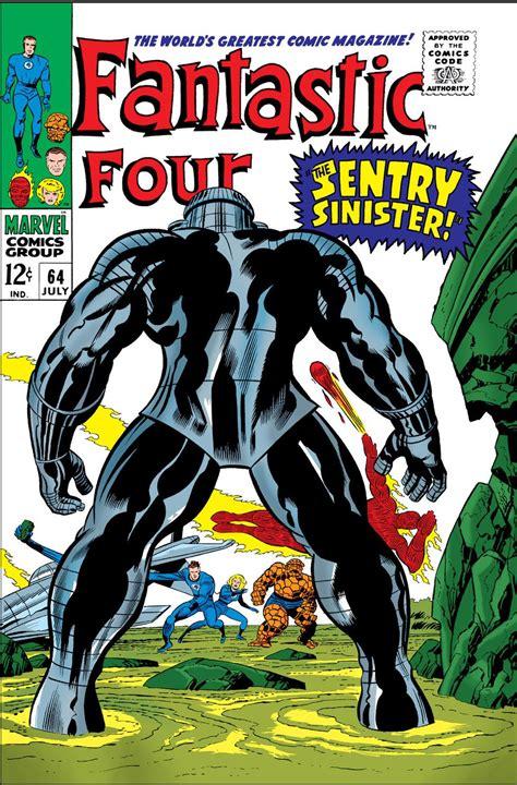 One Vol 64 Bekas fantastic four 64 oct 1967 marvel fn ow 1st kree sentry 459 kirby ebay