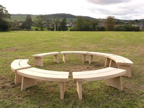 garden furniture benches circular benches edbrooks com
