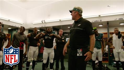 eagles locker room philadelphia eagles locker room speech celebration browns vs eagles nfl