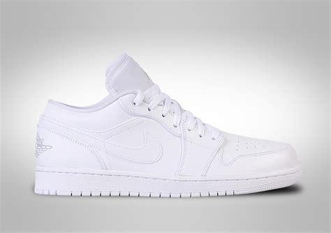 Nike Air 1 Low Leather All White nike air 1 retro low white price 95 00