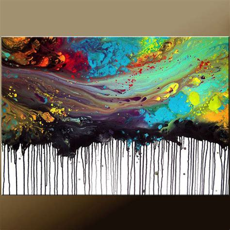 how to acrylic paint on canvas abstract 2015 new arrival artwork painted high quality