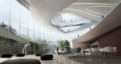 design concept museum futuristic interior design organic architecture