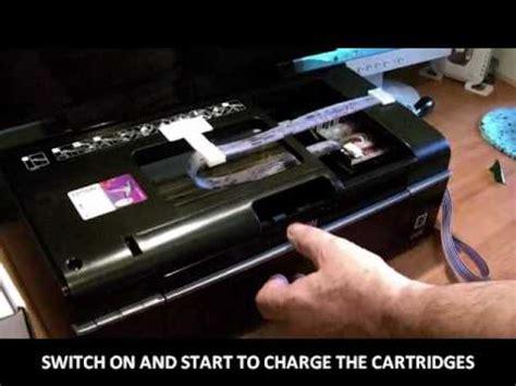 reset printer epson p50 ciss installation on the epson p50 youtube