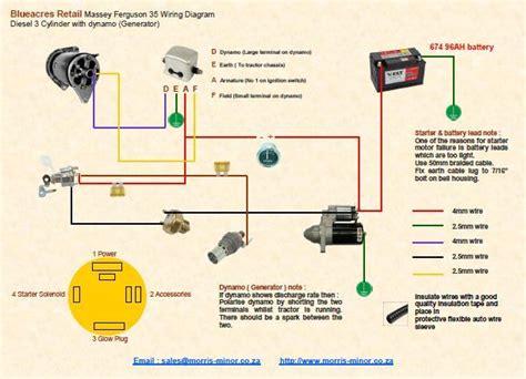 ferguson tef 20 wiring diagram wiring diagrams wiring