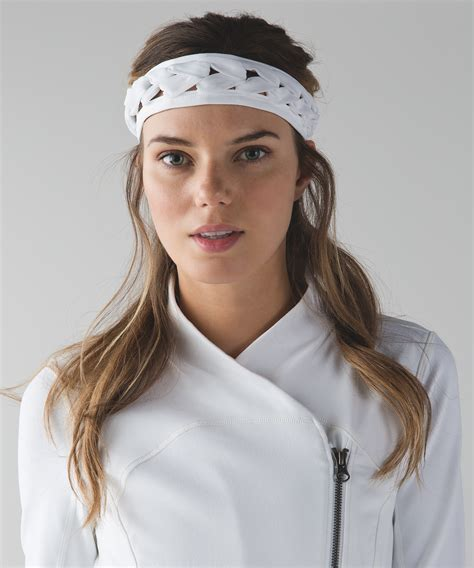 lululemon patterned headbands best braid headband women s headwear hats lululemon