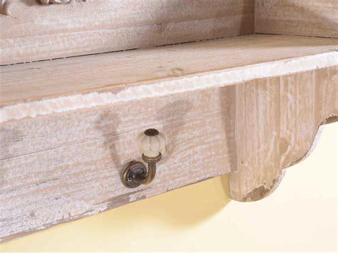 mensole shabby chic antica soffitta mensola appendini da parete in legno