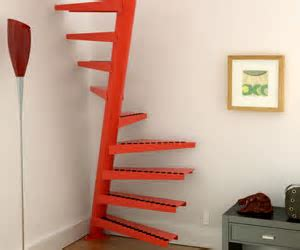 Stairs that fit in one square meter