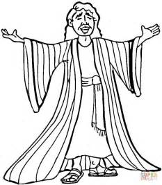 joseph and the coat of many colors joseph many colored coat coloring page free printable