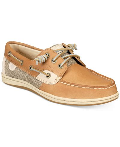 boat shoes macys sperry women s songfish boat shoes flats shoes macy s