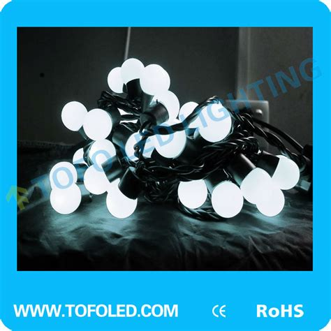 pure white christmas string lights christmas decoration