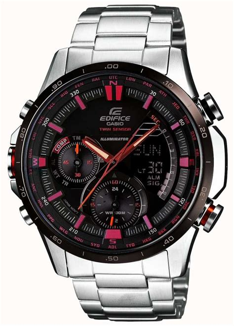 Casio Edifice Era 300db casio mens edifice black era 300db 1aver