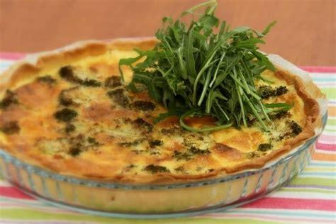 cuisiner gambas surgel馥s recette de quiche aux sci et aux brocolis rapide
