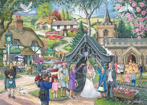 Zaskia 4in1 house of puzzles ftd4 wedding day cresswell