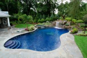 Beautiful Backyards With Pools Beautiful Pools Backyard Design In Small House Olpos Design