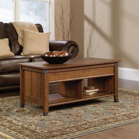 Sauder Coffee Table Lift Top Coffee Table In Washington Cherry 414444