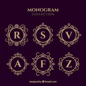 monograma | vetores e fotos | baixar gratis