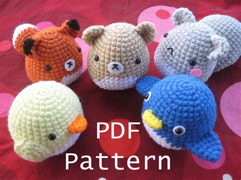 amigurumi patterns easy free easy crochet amigurumi patterns my crochet