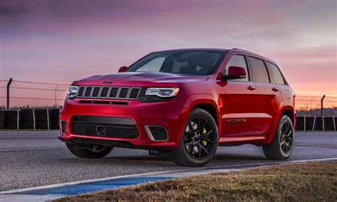 Jeep Grand Us New York Auto Show 2017 Jeep Grand Trackhawk