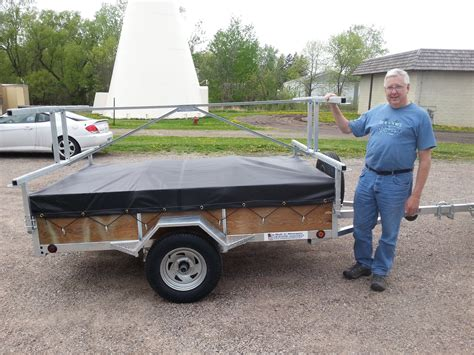 canoes trailers wisconsin canoe trailer remackel trailers