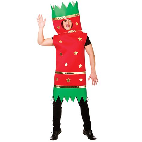 adults xmas cracker one piece christmas fancy dress up