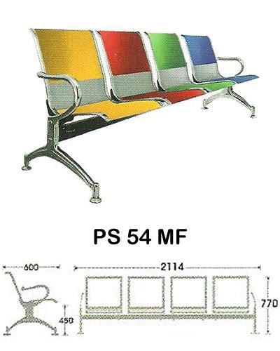 Kursi Tunggu Merk Indachi kursi tunggu indachi ps 54 mf sentra kantor surabaya