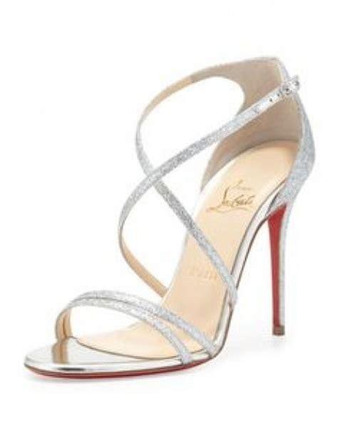 Heel Open Toe Dove Glossy Import les 25 meilleures id 233 es concernant chaussures argent 233 es