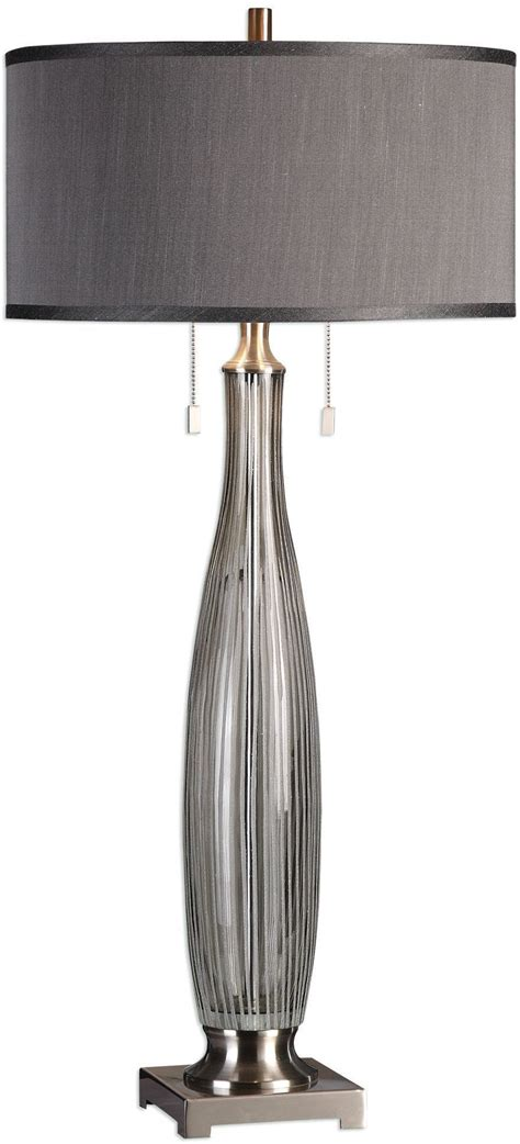 grey glass table l coloma gray glass table l 27199 uttermost