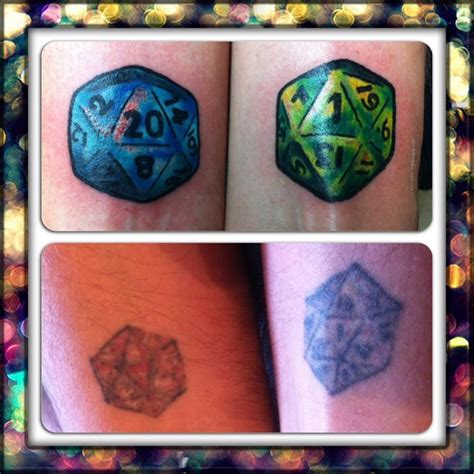 d20 tattoo cover up d20 dice portfolio