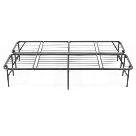 target king bed frame simple base quad fold bed frame king target