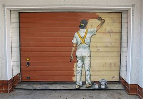 What Of Paint To Use On Garage Doors by How To Paint A Garage Door Contractor Quotes