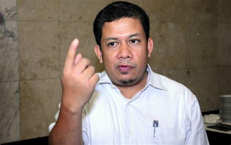 biodata fahri hamzah wakil ketua dpr fahri hamzah tuding kasus e ktp omong kosong mainan
