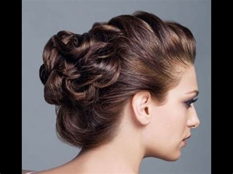hair styles messy 5 minutes updo (prom/homecoming