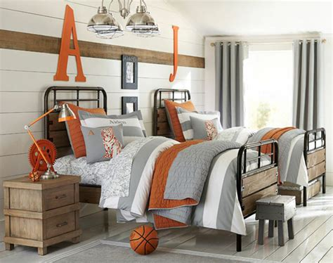 pottery barn boys bedroom 20 sporty bedroom ideas with basketball theme home