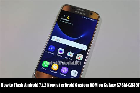 tutorial flash android how to flash android 7 1 2 nougat crdroid custom rom on