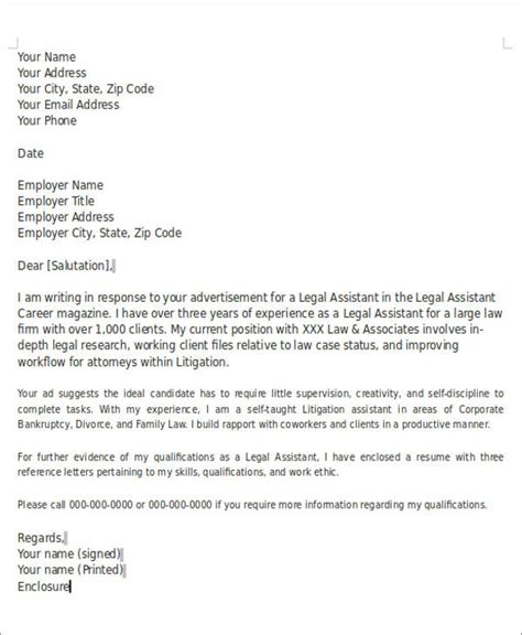 Associate Attorney Cover Letter by Cover Letter Senior Associate Attorney