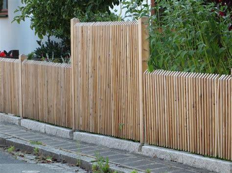 Zaun Mit Sichtschutz 202 by Sichtschutz Holz Unbehandelt Bvrao