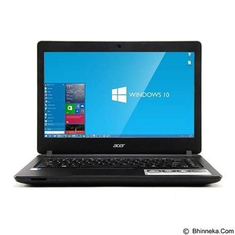 Acer Aspire Es1 432 Notebook Black jual acer aspire es1 432 c9b6 celeron n3350 black