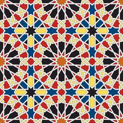 islamic pattern maths al hamra contemporary art projects geometric patterns in