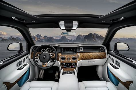 rolls royce cullinan interior 2019 rolls royce cullinan suv revealed with details
