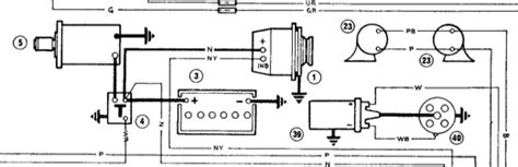 morris minor wiring diagram with alternator 43 wiring
