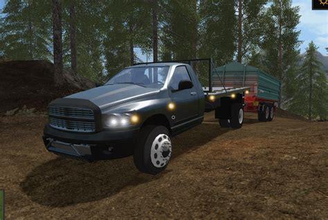 Bed Ls by Dodge Flat Bed Ls17 Farming Simulator 17 Mod Fs 2017 Mod