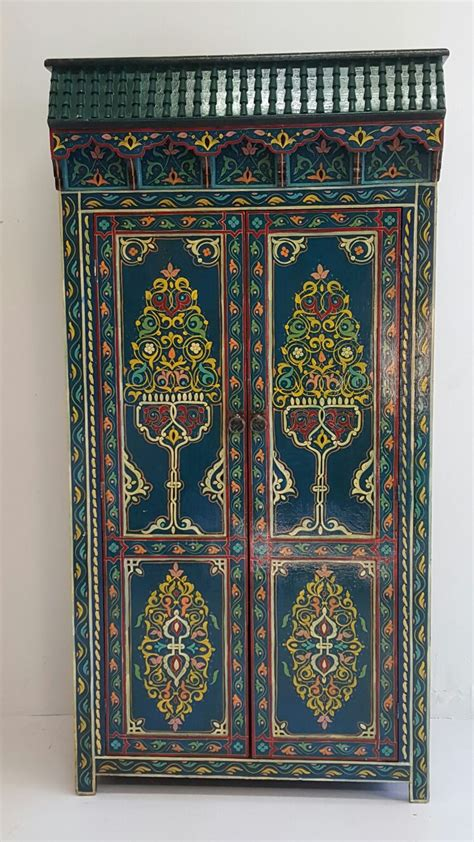 moroccan armoire moroccan handpainted armoires handpainted armoires