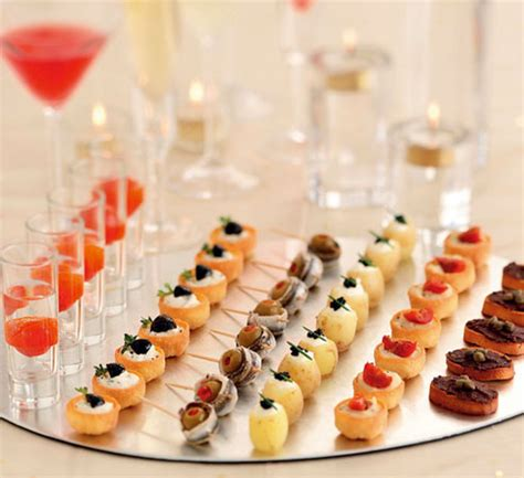 cocktail canapes ideas hostess with the mostest preparing for house guests