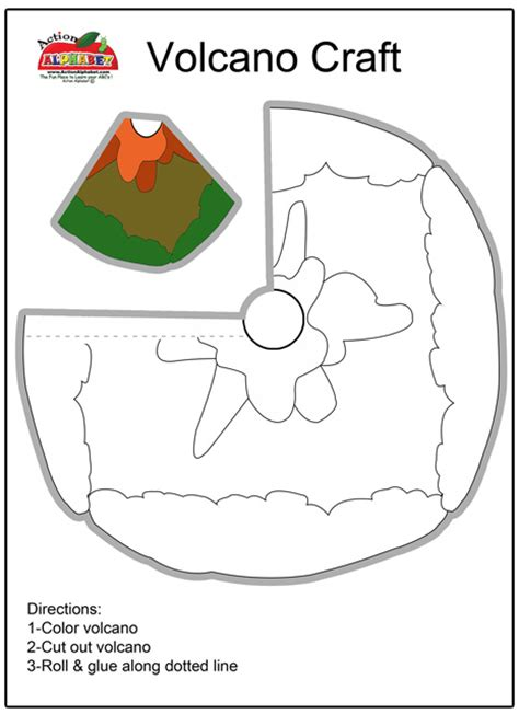 Volcano Papercraft - volcano papercraft 28 images cut out 3d model of
