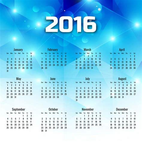 Azul Calendario Geometric Azul Calend 225 2016 Baixar Vetores Gr 225 Tis
