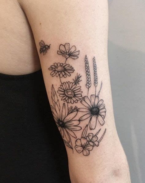 garden tattoo designs best 20 garden tattoos ideas on bouquet