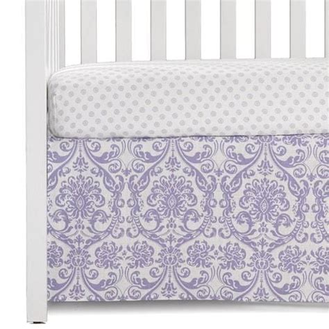 Crib Skirts Sold Separately by Gray Suzani Baby Pillow Sham Liz And Roo
