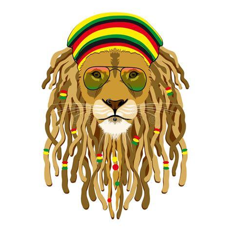 rasta lion stock photography image 33055412