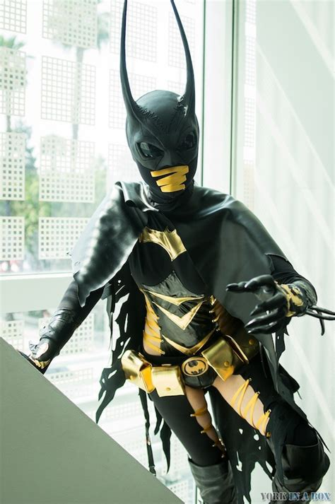 cosplay batgirl dc comics cassandra cain  holy shit  illuminating darkness