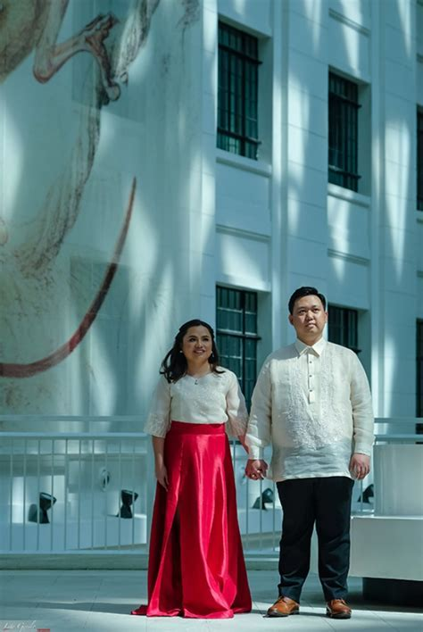 Ryan and Leizel's Prenup Shoot at the National Museum of